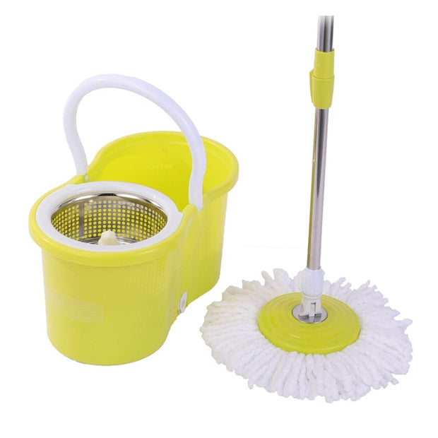 The mop that can rotate 360º just by pressing it!