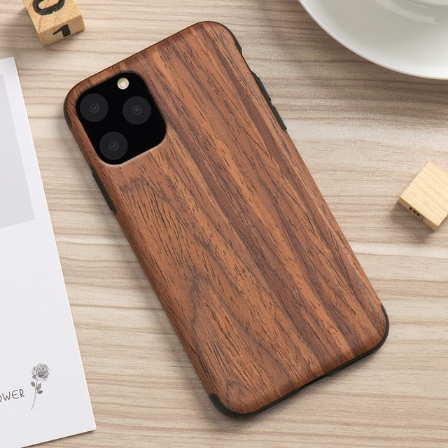 Yoaus iPhone 11 Case - Limitless 3.0, Walnut