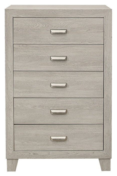 Homelegance Furniture Quinby 5 Drawer Chest in Light Brown 1525-9 image