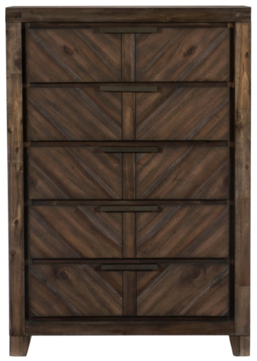 Homelegance Parnell Chest in Rustic Cherry 1648-9 image
