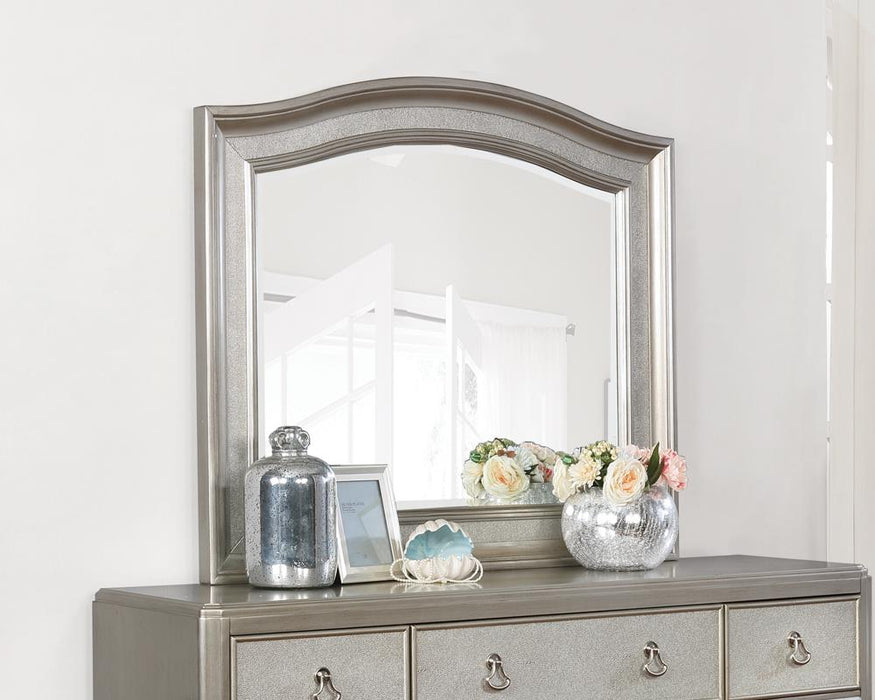 Bling Game Dresser Mirror With Arched Top image