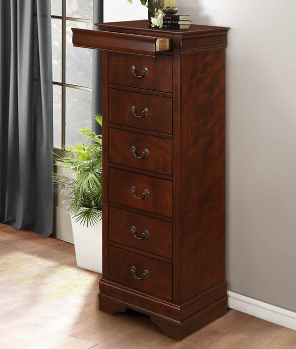 Homelegance Mayville Lingerie Chest in Brown Cherry 2147-12 image