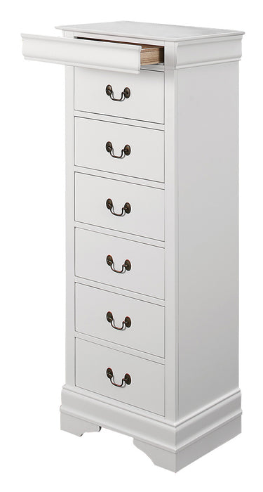 Homelegance Mayville 6 Drawer Lingerie Chest in White 2147W-12 image