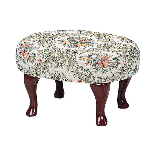 Traditional Floral Foot Stool image