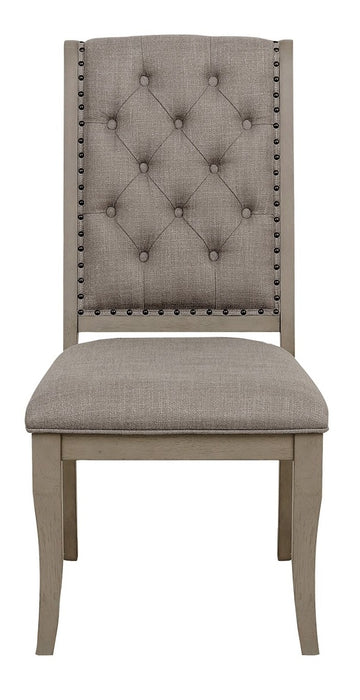 Homelegance Vermillion Side Chair in Gray (Seat of 2) image