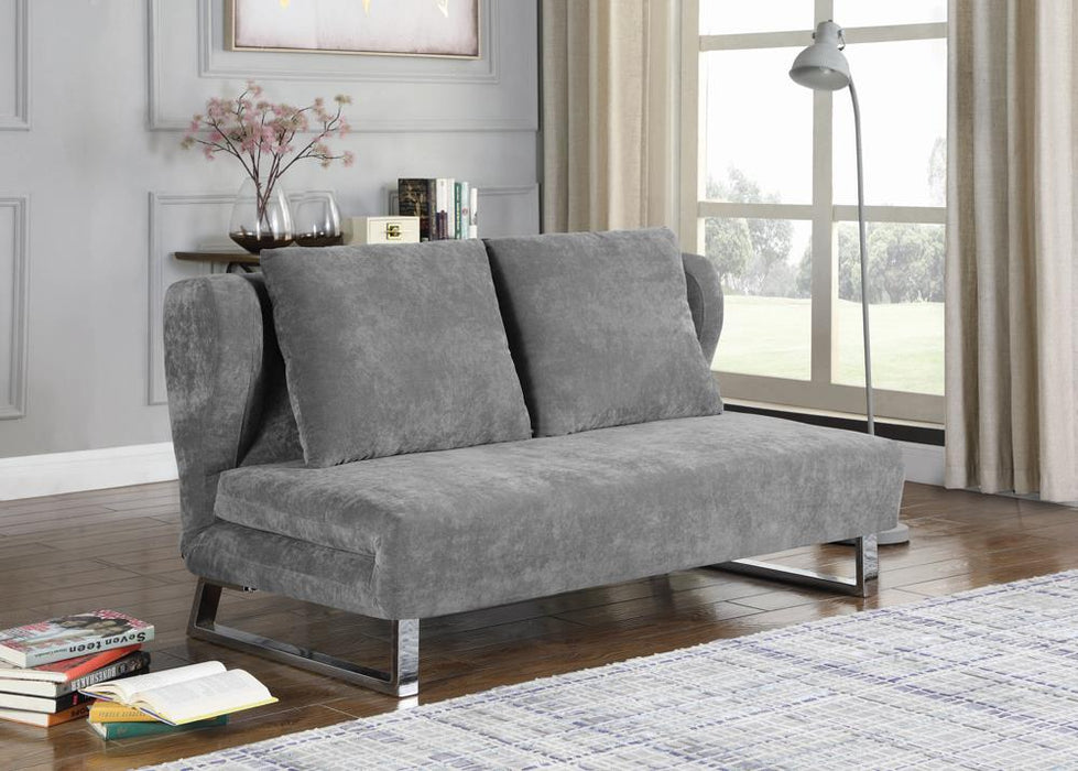 Transitional Grey Sofa Bed image