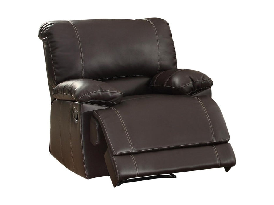 Homelegance Furniture Cassville Double Reclining Chair in Dark Brown 8403-1 image