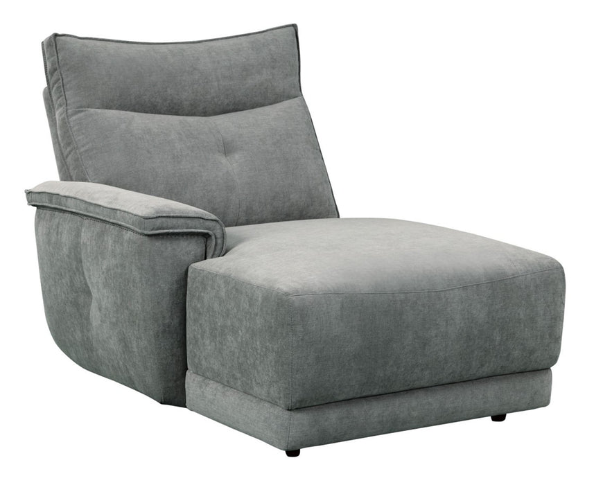 Homelegance Furniture Tesoro Left Side Chaise in Dark Gray 9509DG-5L image