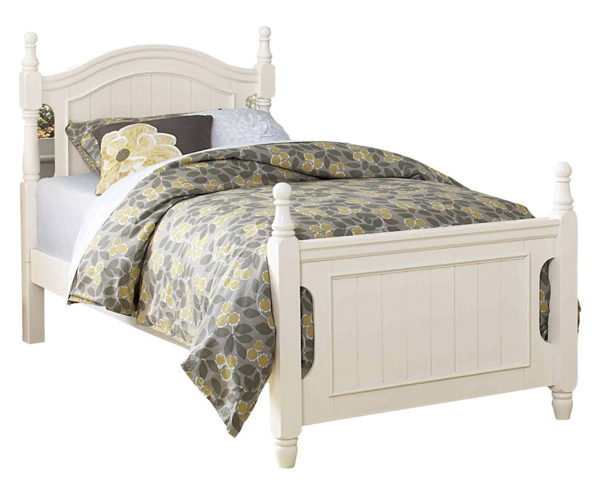 Homelegance Clementine Twin Bed in White B1799T-1* image