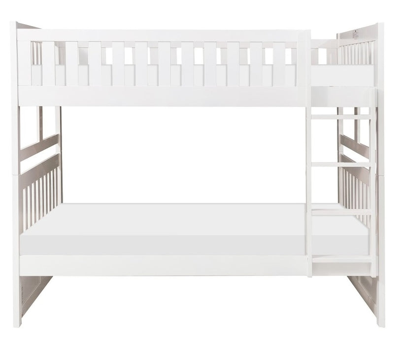Homelegance Galen Full/Full Bunk Bed in White B2053FFW-1* image