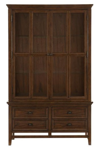 Homelegance Frazier Park Buffet and Hutch in Dark Cherry 1649-50* image