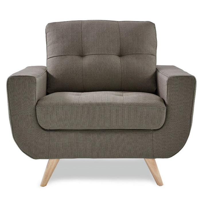 Homelegance Furniture Deryn Chair in Gray 8327GY-1 image