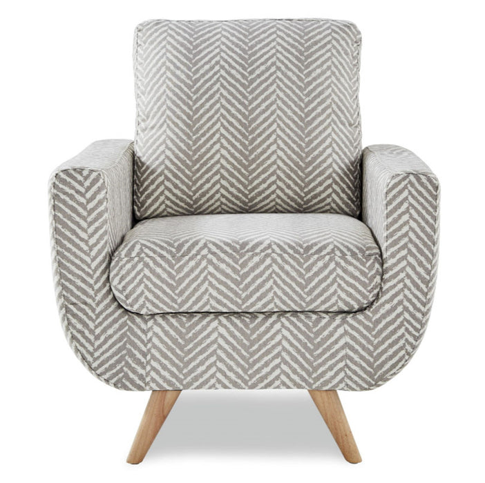 Homelegance Furniture Deryn Accent Chair in Gray 8327GY-1S image