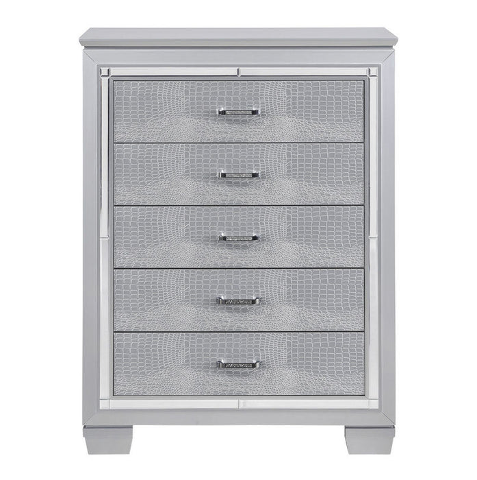 Homelegance Allura Chest in Silver 1916-9 image