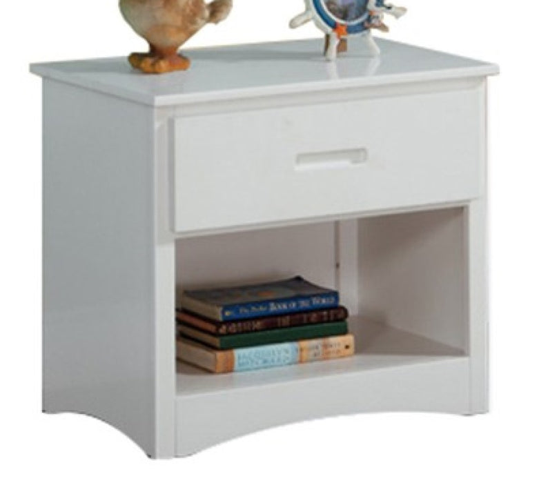 Homelegance Galen 1 Drawer Night Stand in White B2053W-4 image