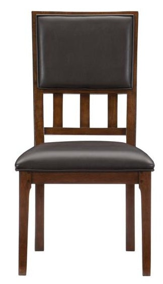 Homelegance Frazier Park Side Chair in Dark Cherry (Set of 2) image