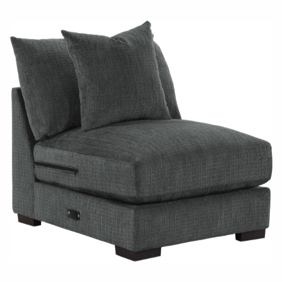 Homelegance Furniture Worchester Armless Chair in Gray 9857DG-AC image