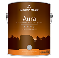 Aura Waterborne Exterior Paint - Low Lustre Finish 634