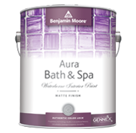 Aura Bath & Spa Waterborne Interior Paint - Matte Finish 532