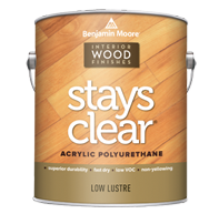 Stays Clear Acrylic Polyurethane - Low Lustre 423