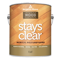 Stays Clear Acrylic Polyurethane - Flat 425