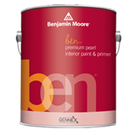 ben Waterborne Interior Paint- Pearl 628