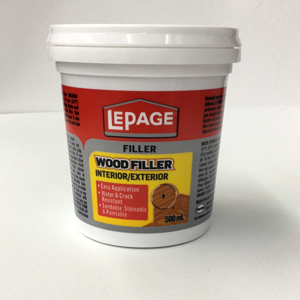 Lepage Interior/Exterior Wood Filler 500ml