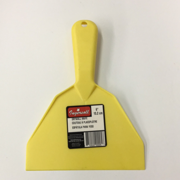 Plastic Putty Knife 6""
