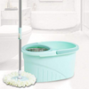Pureatic™ Spin Mop Economy Version by UPC Stainless Steel Wringer, Telescopic Rod, 2 Refills, 2 in 1 Spin mop
