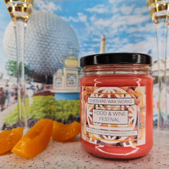 Food & Wine Festival Candle