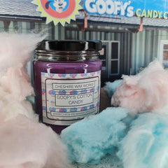 Goofy's Cotton Candy Candle