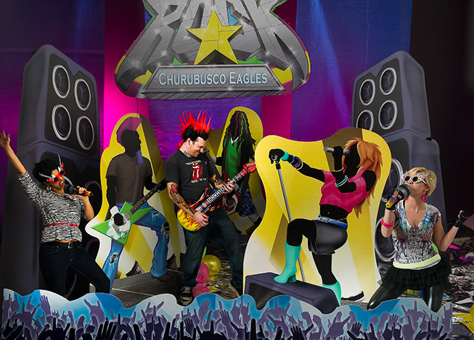 Rock Star Event Theme