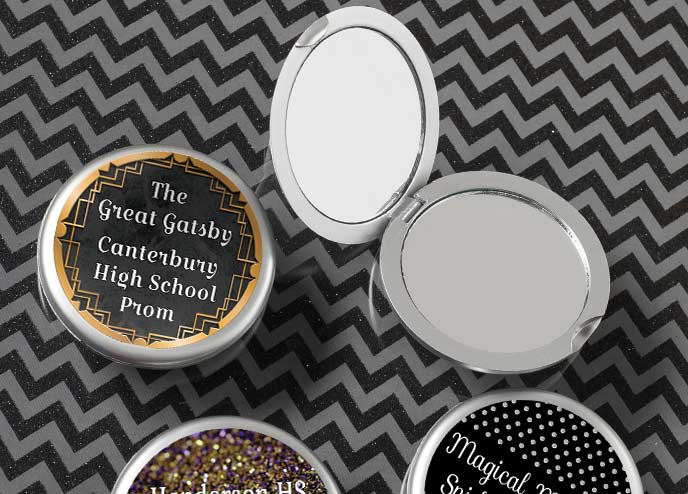 Prom Compact Mirrors