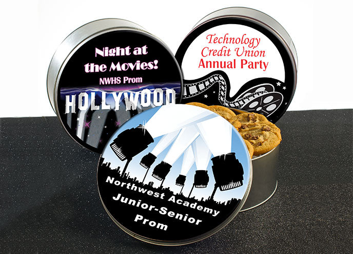 Prom Cookie Tins