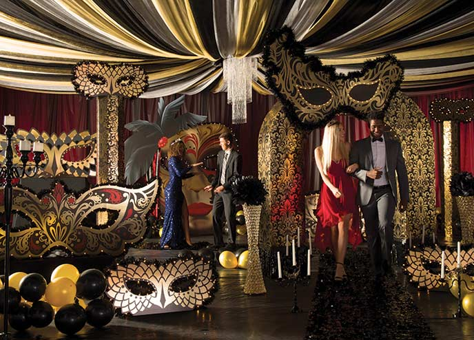 Masquerade Ball Event Theme