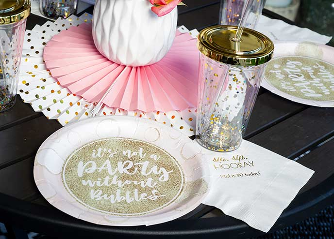 Birthday Party Tableware