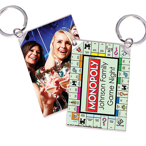 Monopoly Personalized Acrylic Key Chains