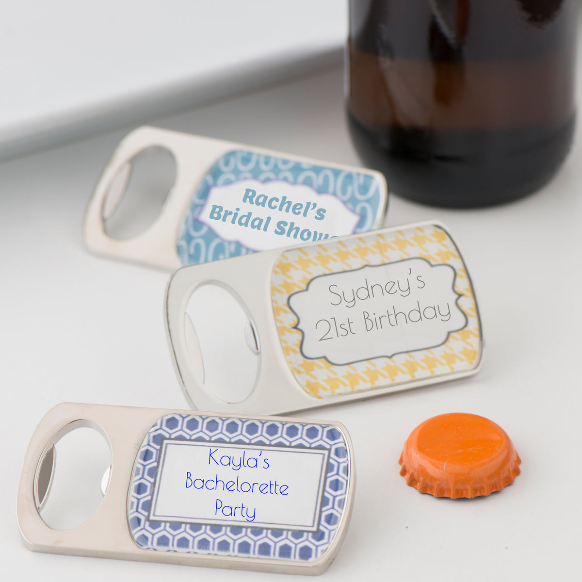 Bottoms Up Personalized Bottle Opener