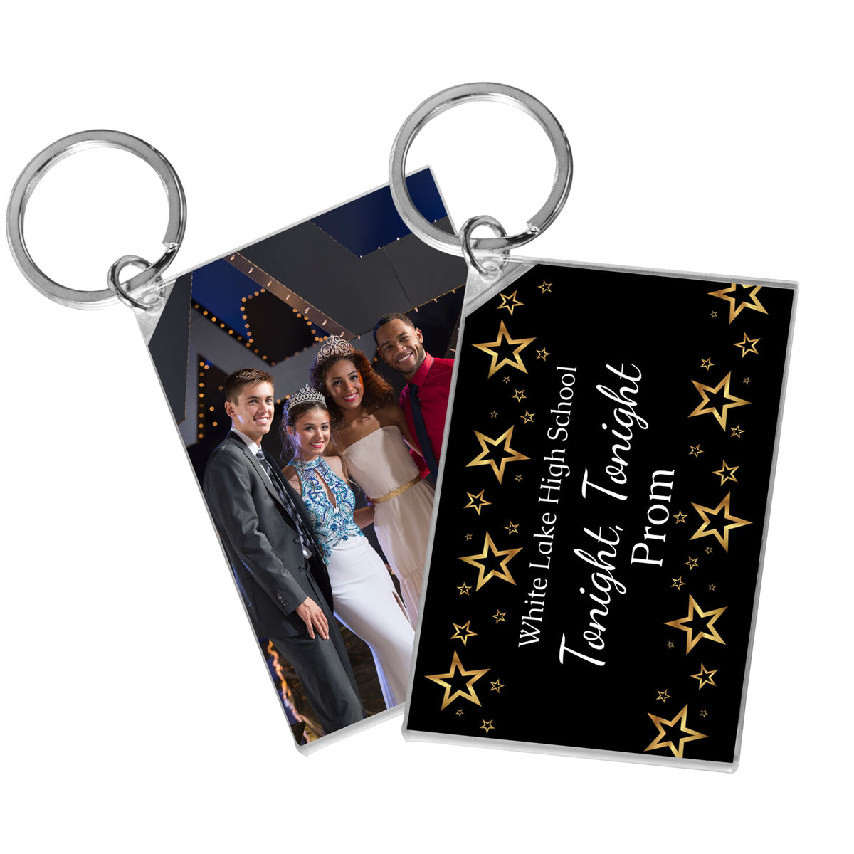 Tonight, Tonight Personalized Acrylic Key Chains