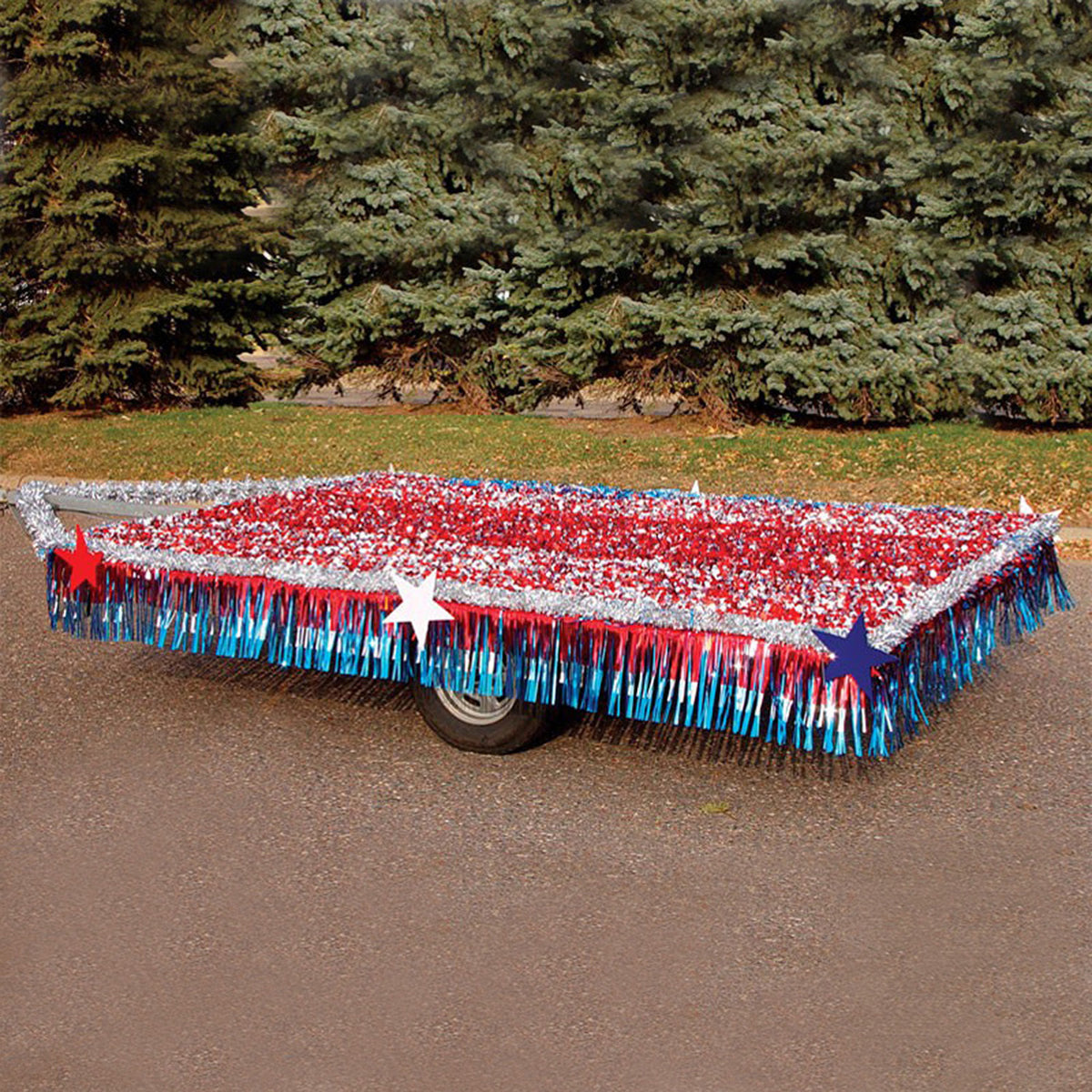 Patriotic Metallic Trailer Kit
