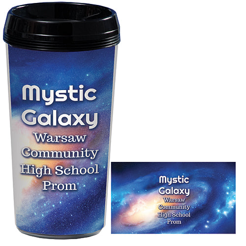 Mystic Galaxy Custom Travel Mugs