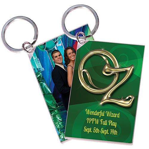 Land of Oz Personalized Acrylic Key Chains