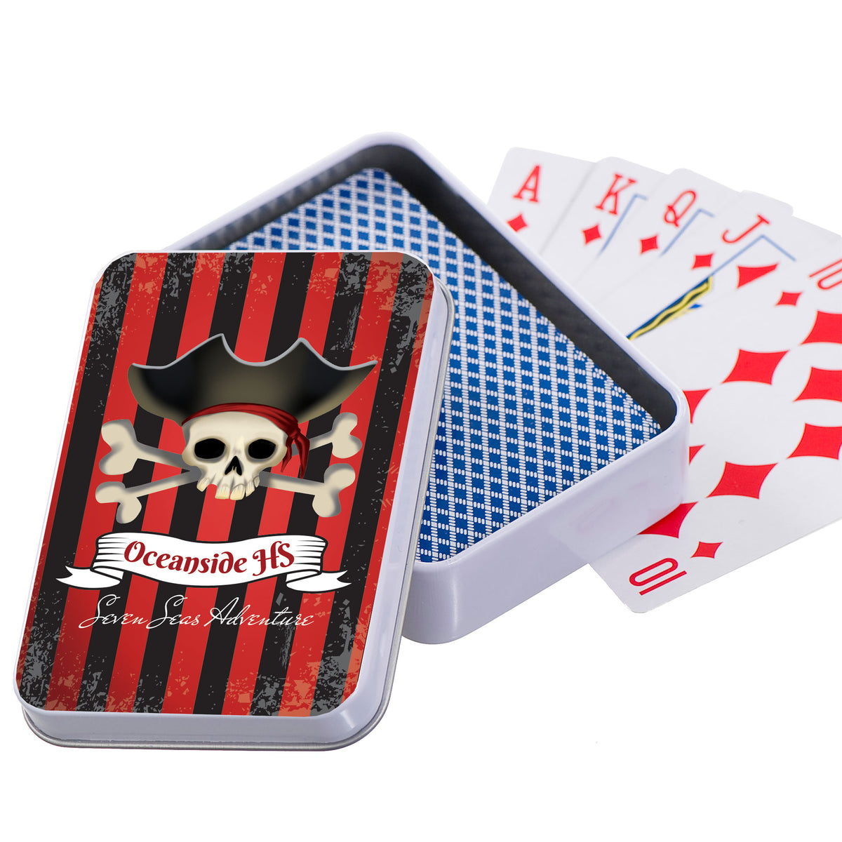 Seven Seas Adventure Personalized Playing Card Case