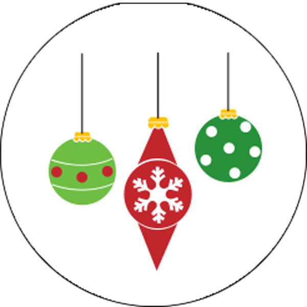 Ornaments Candy Stickers