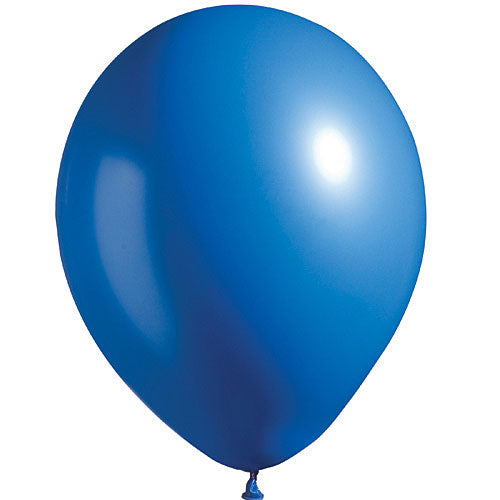 Bright Blue Bright Tone Latex Balloon
