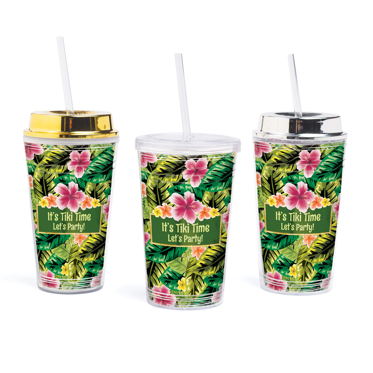 Let's Tiki Personalized Tumbler
