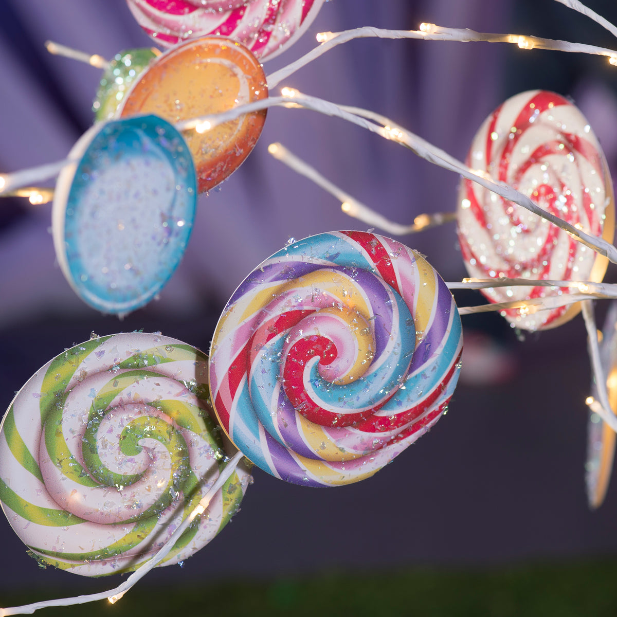 7 ft. Sugar Rush Lollipop Tree