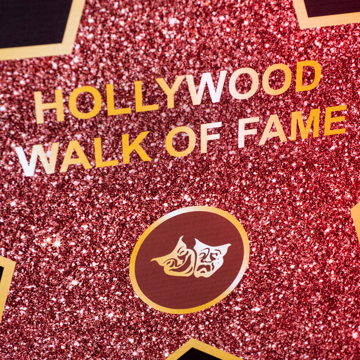 5 ft. Hollywood Walk of Fame Mask Standee