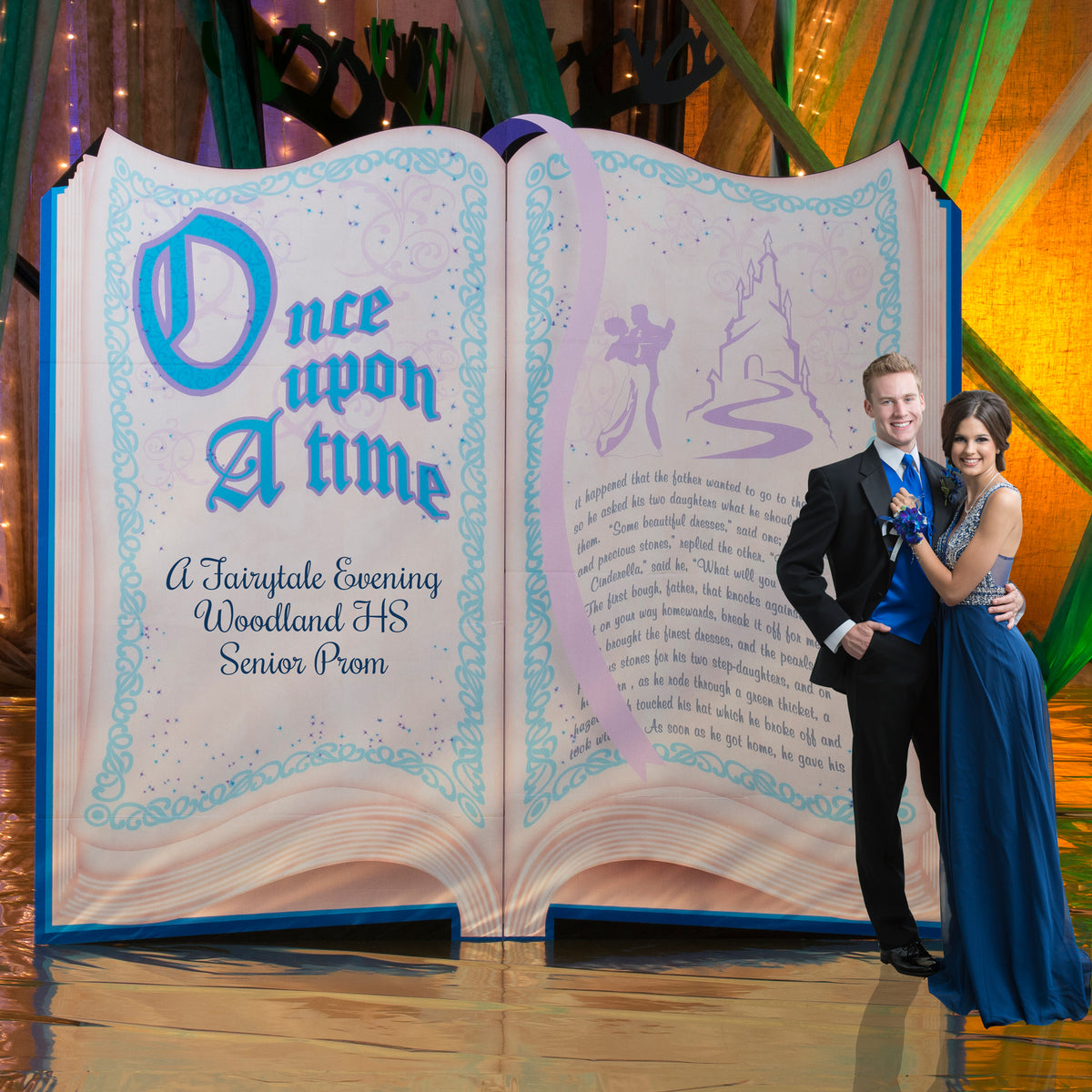 7 ft. Personalized Fairytale Storybook Standee