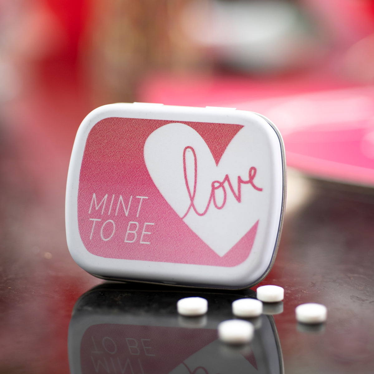Hello Love Personalized Mint Tins